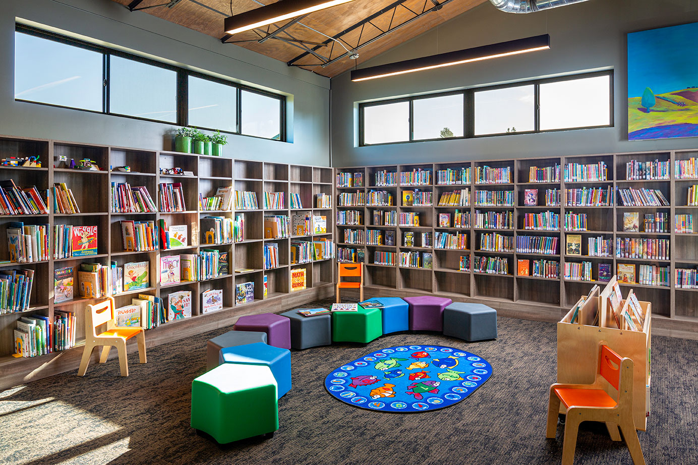 commercial library Kids_Area