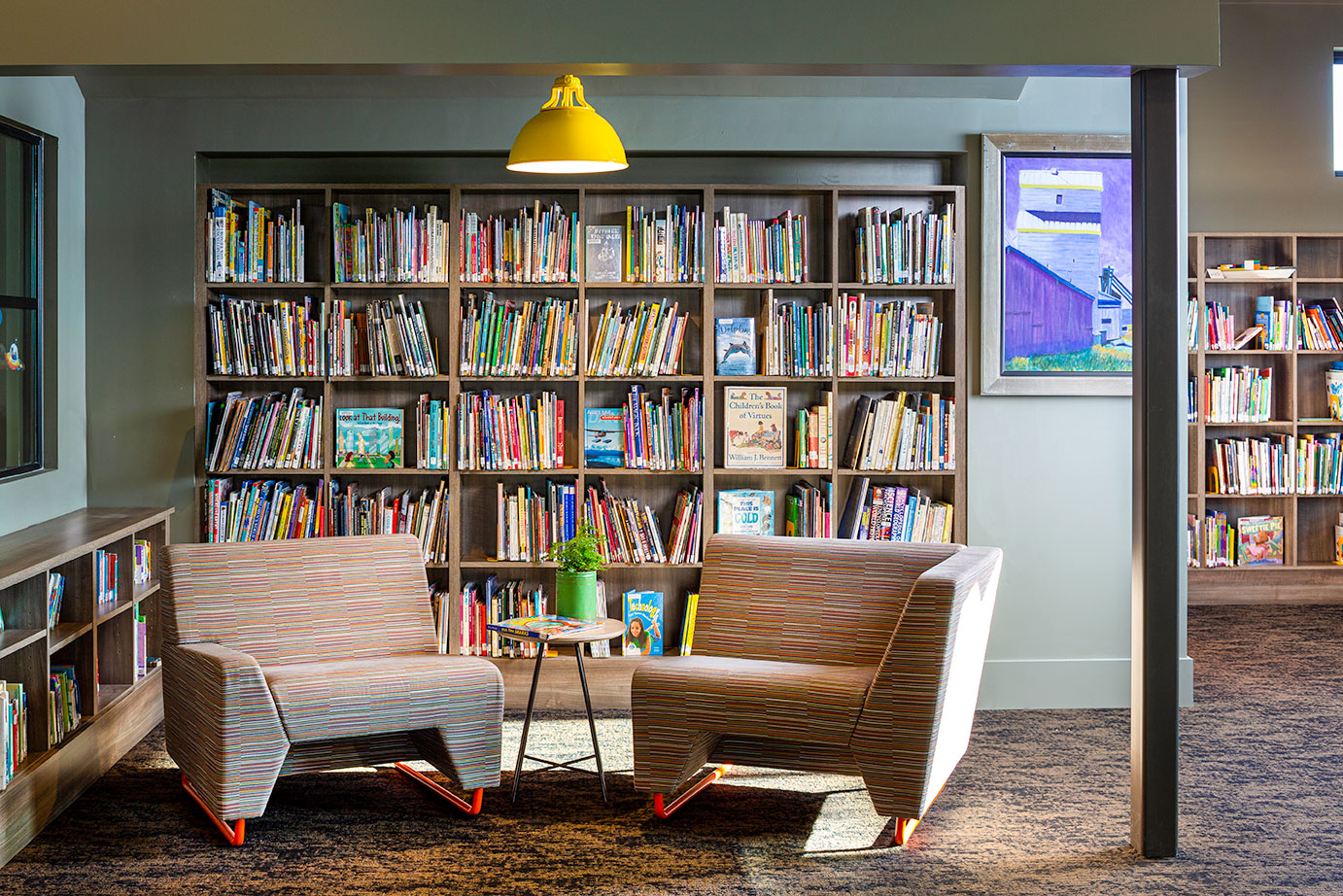 commercial library Reading_Nook